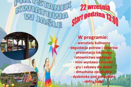 Zapraszamy na I Rodzinny Piknik Jasielski – Przystanek Kwiatowa w Jaśle !